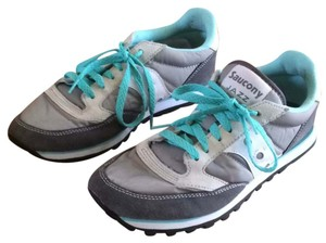 Saucony Grey/teal/white Athletic