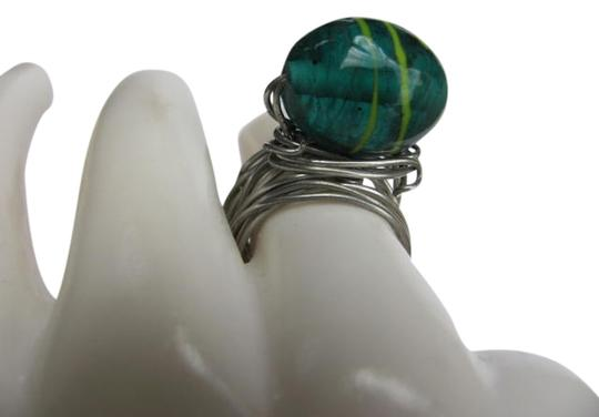 Preload https://item2.tradesy.com/images/silver-green-oval-stone-ring-770826-0-0.jpg?width=440&height=440