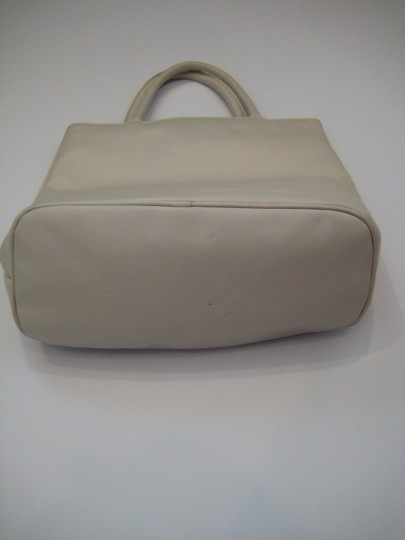 DKNY Tote in Ivory White