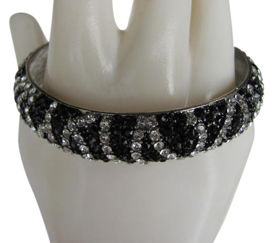 Other RHINESTONE AND/BLACK BEADED BANGLE