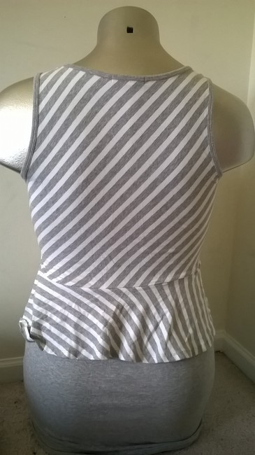 Made For Me short dress Gray White on Tradesy