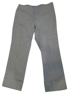 Banana Republic Capri/Cropped Pants Light Blue Martin