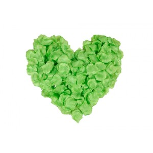 5000x Green Silk Rose Petals Wedding Bridal Party Flower Decoration Table Top Centerpieces Decor