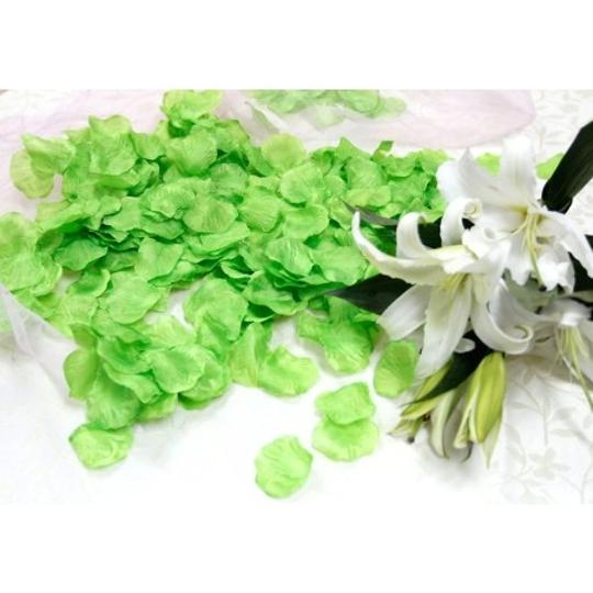 Green 5000x Silk Rose Petals Bridal Party Flower Table Top Centerpieces Decor
