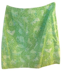 Lilly Pulitzer Adorable Summer Skirt Green