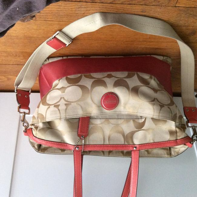 Item - N2e1073-f15188 Cream/Coral Laptop Bag