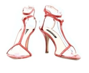 Sergio Rossi Coral/red Pumps