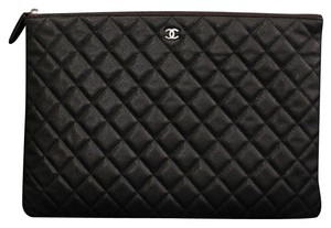 Chanel Chanel Quilted Envelope Clutch/ ipad Case