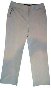 Sharagano Size 8p Petite P1783 Dress Straight Pants beige