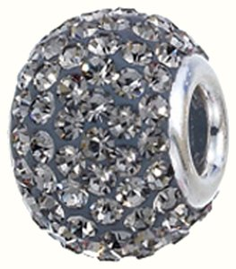 Zable ZABLE Crystal 925 Sterling Silver Bead Charm