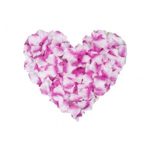 5000x Lavender And White Purple Silk Rose Petals Wedding Bridal Party Flower Decoration Table Top Centerpieces Decor
