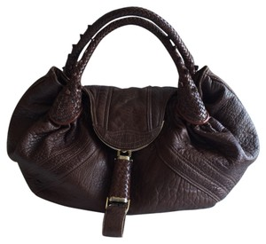 Fendi Vintage Classic Collectible Leather Hobo Bag