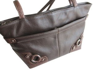 Stone Mountain Leather Shoulder Bag