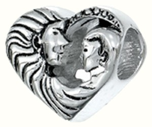 Zable Zable Mother's Love 925 Sterling Silver Bead Charm