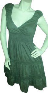 Speed Control New York short dress Hunter Green Off The Sleeveless Bohemian on Tradesy