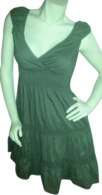 Preload https://item5.tradesy.com/images/hunter-green-on-and-off-the-shoulderdress-mini-short-casual-dress-size-8-m-771114-0-0.jpg?width=400&height=650