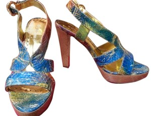 BCBGMAXAZRIA Multi color BCBG Sandals