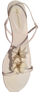 Anne Klein White Sandals