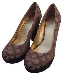 Coach Khaki Pumps