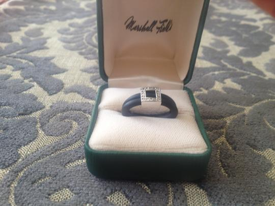 Other Black and CZ Diamond ring