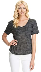 Rag & Bone New & T Shirt Charcoal