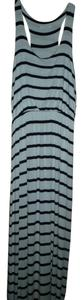Black and White Stripe Maxi Dress by Lush