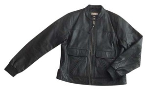 Territory Ahead Blac Leather Jacket