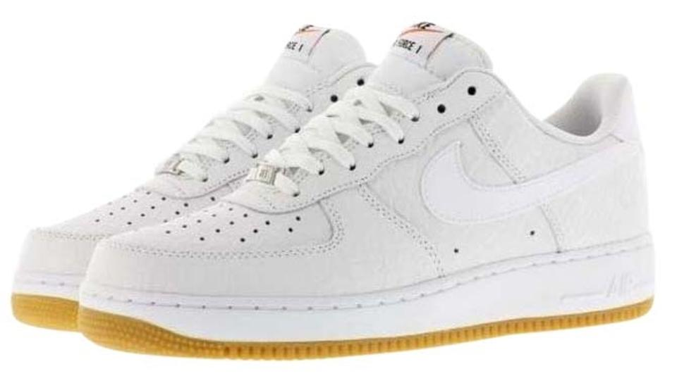 Nike Air Force 1 Low White Python Gum Boys 6.5Women Sneakers Size US 8 42% off retail