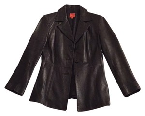 John Carlisle Blac Leather Jacket