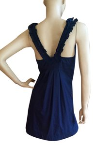 FEI short dress Navy blue on Tradesy