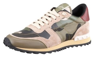 Valentino Sneaker Camouflage Army Camo/Pink Athletic