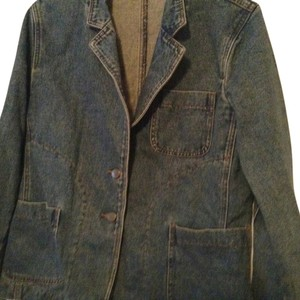 Harvé Benard Jean Womens Jean Jacket
