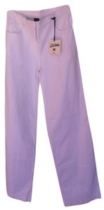 Jean-Paul Gaultier Designer Summer Slacks Boot Cut Pants White