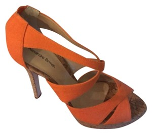Alexandre Birman Orange Platforms