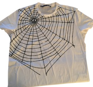 Love Moschino Halloween Fashion In Halloween Moschino Halloween T Xxl Peace T Spiders Web T Shirt white and black