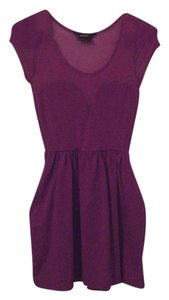 Nasty Gal short dress Purple on Tradesy