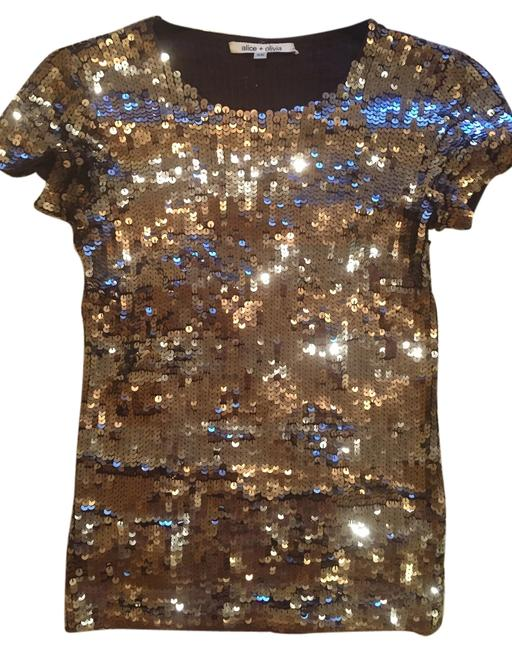 Item - Sequin Gold/Silver Top