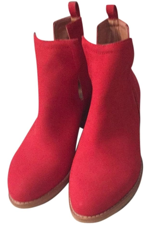 Jeffrey Campbell Campbell Jeffrey Red Oriley Cut Out Boots/Booties 3ad315