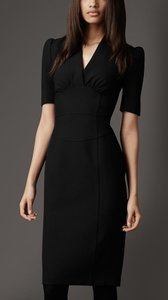 Burberry short dress Black Victoria Beckham Tory Burch on Tradesy