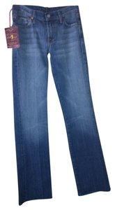 7 For All Mankind Unique Low Rise Boot Cut Jeans-Acid