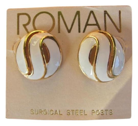 ROMAN NEW! ROUND , SURGICAL STEEL POSTS