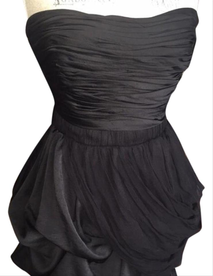 1c823fc0497 bebe Black Formal Bubble Short Cocktail Dress Size 8 (M) - Tradesy