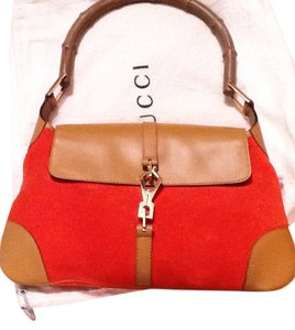 Gucci Classic Suded Jackie Baguette