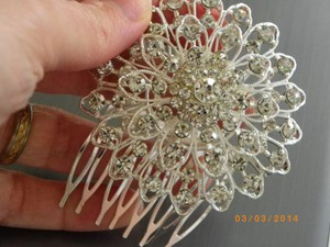 Rhinestone Bride Hair Accessory Hair Comb Insert Bridal Accessory Wedding Bridal Hair Comb