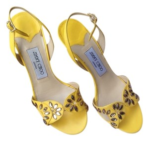 Jimmy Choo Canary Yellow Pumps