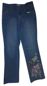 Coldwater Creek Comfy Sylish Boot Cut Jeans-Medium Wash