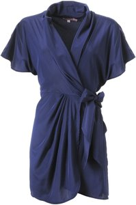 Calypso St. Barth Wrap Silk Dress