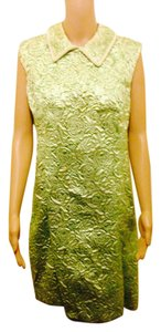 Other Rare Antique Vintage Style Trendt Trendy Glamour Glitter Glitz Ladies Women Woman Knee Coat Cover Satin Lined Pearl Dress