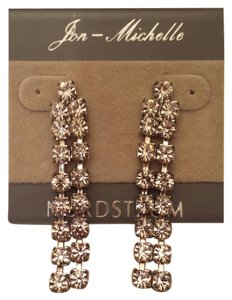 Jon Michelle Jon Michelle Dangle Rhinestone Earrings