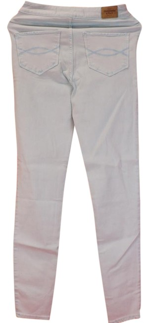 Item - Mint Light Wash The A&f Natural Waste Legging R W26 Skinny Jeans Size 26 (2, XS)